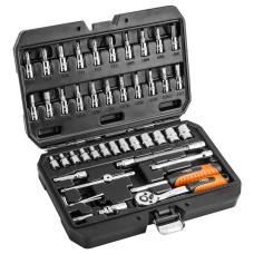 набір торцевих головок Neo Tools 08-660 1/4 Cr-V (46шт)