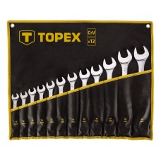 Набір комбінованих ключів TOPEX 35D758 13-32мм (12шт)