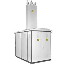 Тупикова трансформаторна підстанція КТП1-40/10 (6)/0,4 кіоскового типу з повітряним введенням