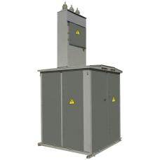 Тупикова трансформаторна підстанція КТП1-250/10 (6)/0,4 кіоскового типу з повітряним введенням