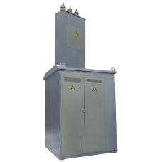 Тупікова трансформаторна підстанція КТП1-400/10 (6)/0,4 кіоскового типу з повітряним введенням