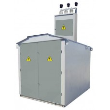 Тупикова трансформаторна підстанція КТП1-630/10 (6)/0,4 кіоскового типу з повітряним введенням