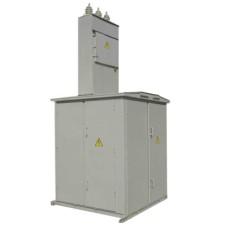 Тупикова трансформаторна підстанція КТП1-630/10 (6)/0,4 кіоскового типу з кабельним вводом