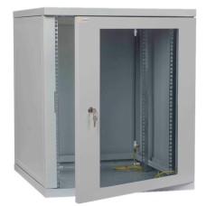 Телекомунікаційна шафа IPCOM CH 12U скло 600мм