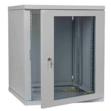 Телекомунікаційна шафа IPCOM CH 12U скло 450мм