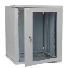 Телекомунікаційна шафа IPCOM CH 15U скло 450мм