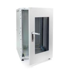 Телекомунікаційна шафа IPCOM з 18U скло 600мм