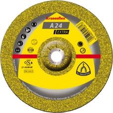 Шліфувальний круг по металу KLINGSPOR 125х6х22.2 Kronenflex A24 EXTRA