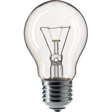 Прозора лампа розжарювання PHILIPS 10018501 A55 60W Е27 CL