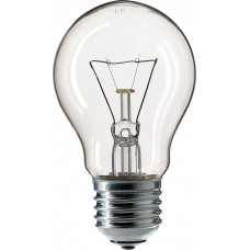 Прозора лампа розжарювання PHILIPS 10018502 A55 75W Е27 CL