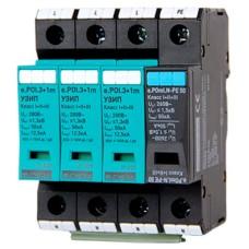 Моноблочний пристрій захисту від імпульсних перенапруг E.next 81.027 e.POI.3 1m 280V/12 5kA