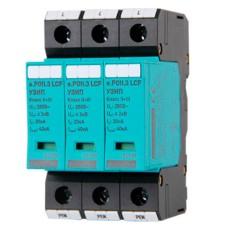 Комбінований пристрій захисту від імпульсних перенапруг E.next 82.009 e.POII.3