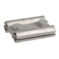 Паралельний зажим прута блискавкозахисту з роздільною пластиною DKC NG3107 Ø8мм