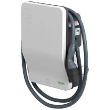 Зарядна станція Schneider Electric EVH2S7P0CK Evlink Wallbox T2 32A з приєднаним кабелем