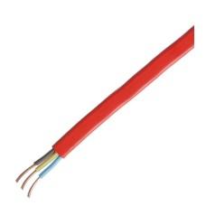 Червоний кабель ELCOR 110117 ВВГ-П нгд 3х2,5