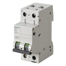Автоматичний вимикач Siemens 5SL6263-7 380В 2Р з 63A