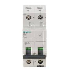 Автоматичний вимикач Siemens 5SL6213-7 380В 2Р з 13A