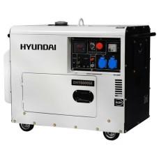 Генератор з набором коліс Hyundai DHY 8000SE 6 кВт