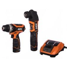 Набір інструментів AEG 4935464242 в комплекті з BS12C2 BMT12C LL1230