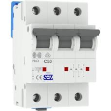 Трьохполюсний автомат SEZ 63 з 50А 3P (PR63C50А)