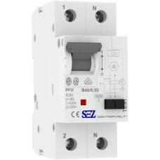 Диф автомат SEZ PFI2 B 40A/0,03A (PFI2B_40A/0,03A)