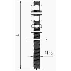 Тримач блискавкоприймача OBO Bettermann (5408973) isFang 3B-G3 з нержавіючої сталі