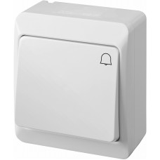 1-клавішний вимикач Elektro Plast 0337-2 Hermes IP44