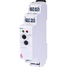 Реле контролю споживаного струму ETI 002471816 PRI-51/1 (0 1..1A) (1x8A AC1)