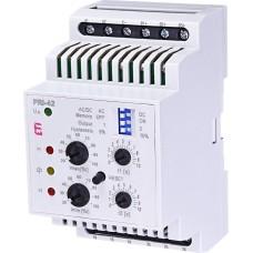 Реле контролю споживаного струму ETI 002471842 PRI-42 AC/DC 24V (3 діапазони) (2x16A AC1)