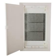 Мультимедійний щиток ETI 001101191 ECG42 MEDIA-PO (перфорована панель і пластикова біла дверка)
