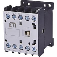 Мініатюрний контактор ETI 004641215 CEC 09.PR 24V DC (9A; 4kW; AC3) 4р (2НО+2НЗ)
