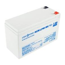 Акумулятор LogicPower AGM LPM-MG 12-7 AH 12В