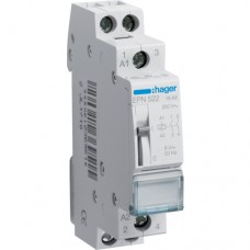 Імпульсне реле Hager EPN522 8В/16А 2НО
