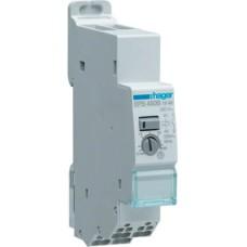 Імпульсне реле Hager EPS450B 2 окремих входи з затримкою 1НО 16А/8-24В 230В