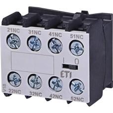 Блок-контакт ETI 004641545 EFC4-04 (4NC)
