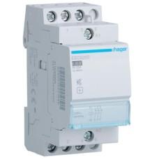 Безшумний контактор Hager ESC326S 25A 3НЗ 230B