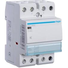 Безшумний контактор Hager ESC363S 63A 3НЗ 230B