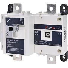 Вимикач навантаження ETI 004661854 LBS 160 2P DC1000 («1-0» 160A 1000V DC)