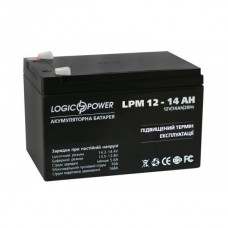 Акумулятор LogicPower AGM LPM 12-14 AH 12В