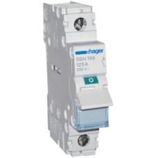 Вимикач навантаження Hager SBN199 1P 125А/230В 1м