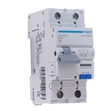 Диференційний автоматичний вимикач Hager AD932J 32A 1+N