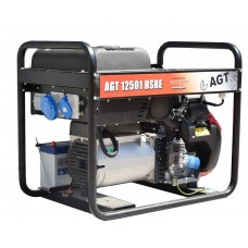 Бензогенератор 12501 HSBE R16, AGT 12кВт
