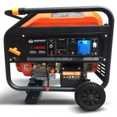 Бензиновий генератор Daewoo GDA 8000E Expert 7,5кВт 220В