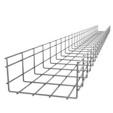 Посилений дротяний лоток IEK 100х300мм (CLWU10-100-300-3)