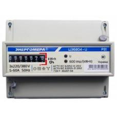 Лічильник електроенергії ЦЕ6804-U/1 220В 5-60А 3ф.4пр. МР31