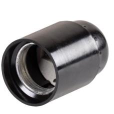 Підвісний карболітовий патрон IEK Пкб27-04-К01 Е27 чорний (EPK10-04-02-K01) індивідуальний пакет
