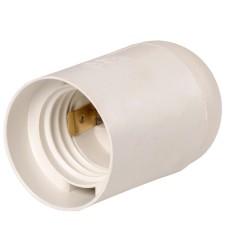Підвісний пластиковий патрон IEK Ппл27-04-К02 Е27 білий (EPP10-04-02-K01) індивідуальний пакет