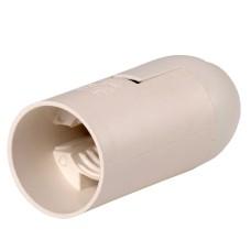 Підвісний пластиковий патрон IEK Ппл14-02-К02 Е14 білий (EPP20-02-02-K01) індивідуальний пакет
