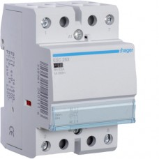 Контактор 63A ESC263 (2НО, 230В) 3м Hager