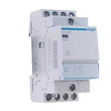 Контактор 25A ESC425S безшумний (4НО, 230В) 2м Hager